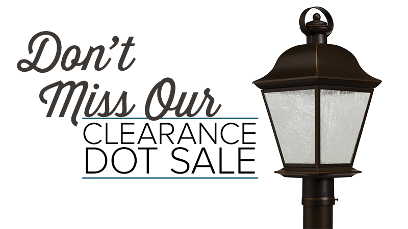 Don't Miss Our Clearance Dot Sale