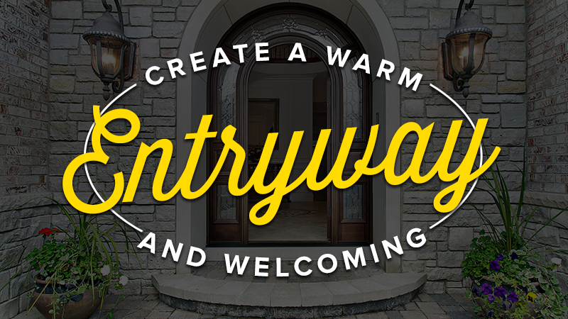 Create a Warm, Welcoming Outdoor Entryway