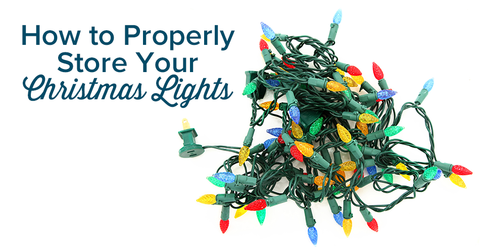 How to Properly Store Your Christmas Lights