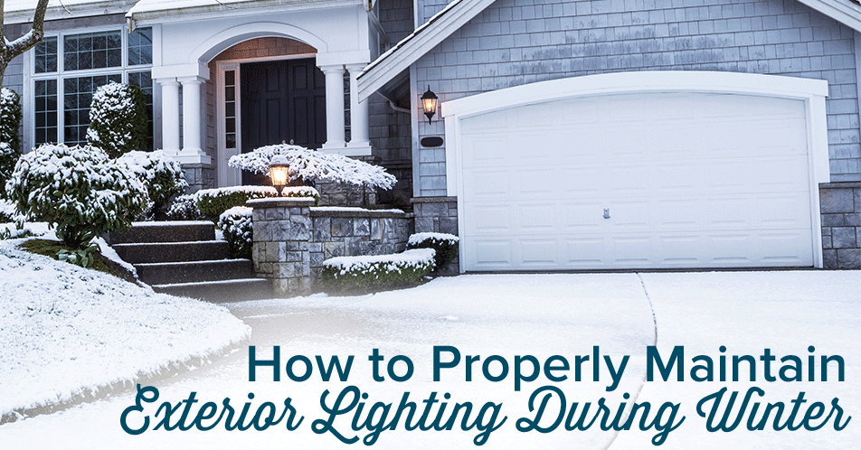 How to Properly Maintain Exterior Lighting During Winter