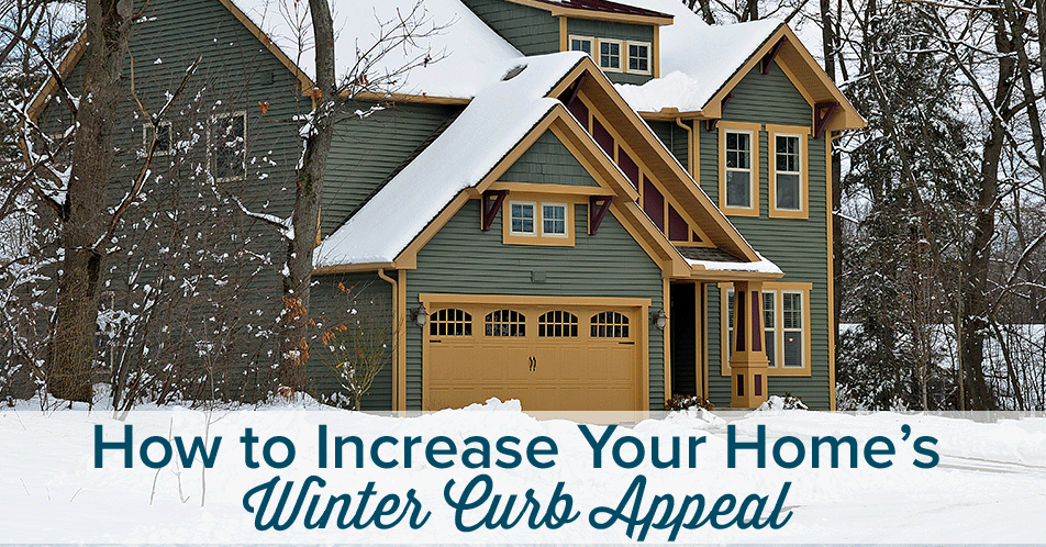 How to Increase Your Home's Winter Curb Appeal