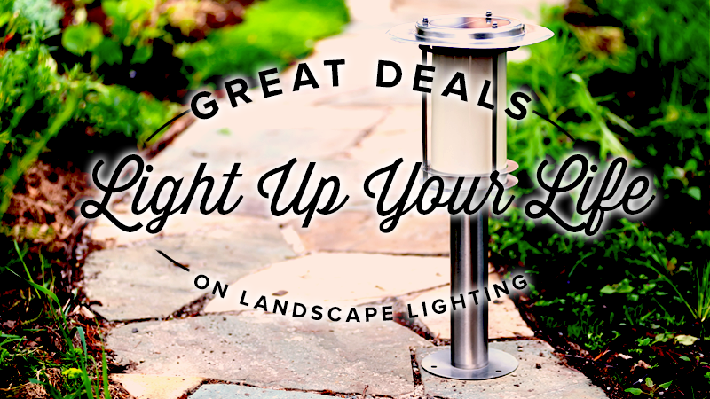 Great Discounts on Landcape Lighting!