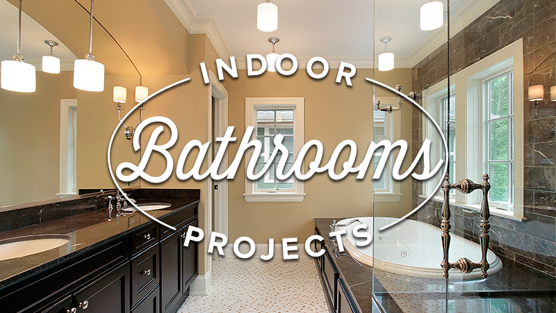 Enhance Your Bathroom with a New Mirror and Lighting Fixtures